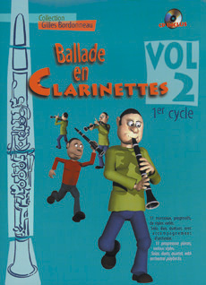 Ballade en clarinettes 1er cycle vol 2