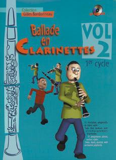 Ballade en clarinettes 1er cycle vol 2