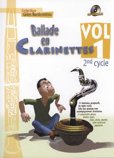 Ballade en clarinettes 2ème cycle vol 1