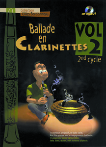 Ballade en clarinettes 2ème cycle vol 2