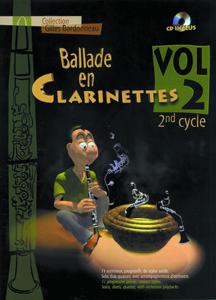 Ballade en clarinettes 2ème cycle vol 2