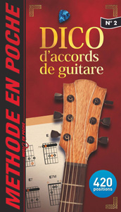 DICO d'accords de guitare