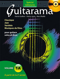 Guitarama 1A tablatures