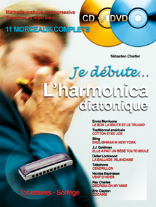 Je débute l'harmonica CD + DVD