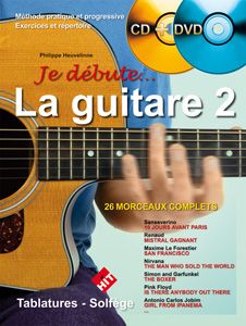 Je débute la guitare vol.2 CD + DVD