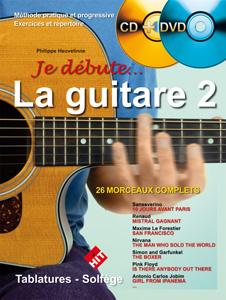 Je débute la guitare vol.2 CD + DVD