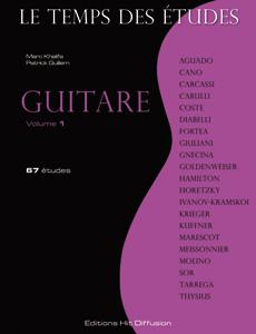 Le Temps des études guitare vol. 1