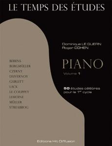Le Temps des études piano