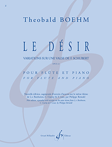 Le désir, de Theobald Boehm