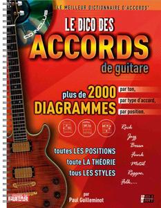 Le dico des 2000 accords de guitare
