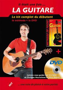 Le kit guitare débutant avec DVD
