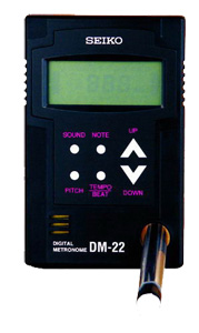 Métronome digital Seiko DM22