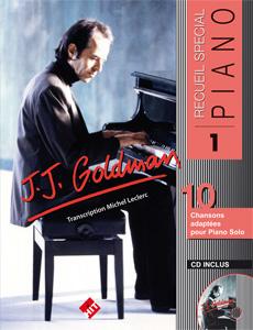 Spécial piano n°1,  J.J. GOLDMAN vol 1