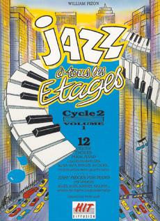 Jazz à tous les étages, cycle 2 vol 1