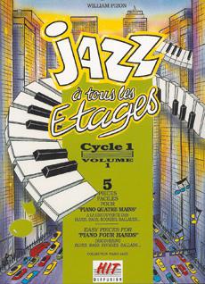 Jazz à tous les étages, cycle 1, 4 mains