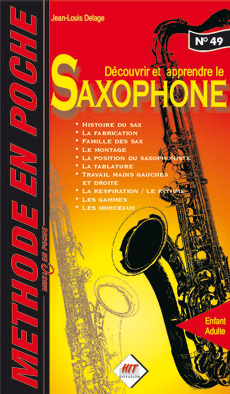 Méthode en Poche Saxophone