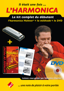 Le kit débutant harmonica avec DVD