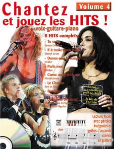 Chantez et jouez les hits vol 4