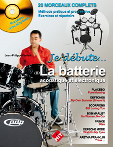 Je débute la batterie