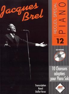 Spécial piano n°12, Jacques BREL