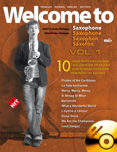 Welcome to saxophone Mi b