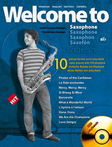 Welcome to saxophone Si b