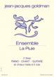 Petit format 2 titres :  Ensemble et La Pluie